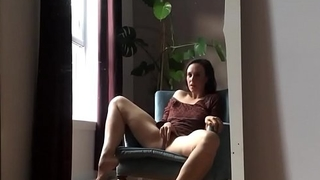 Milf Masturbating To Orgasm