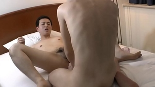 Fingered and fucked asian