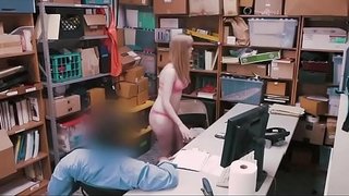 Officer Fucked By Thief Teen in Office - Lifterx.com