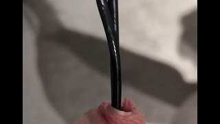 Urethral judicious with cable 13 inches deep!