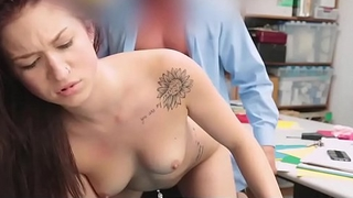 Officer Fucked Teen Thief in Office - Lifterx.com