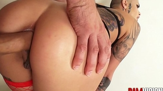 Bamvisions Tattooed Anal Slut Leigh Raven