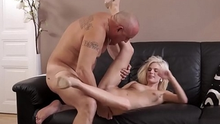 Perfect tow-haired anal Horny platinum-blonde wants to attempt someone