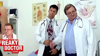 Czech gyno clinic exam of hairy hottie Promesita